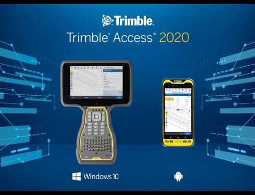 Nová verzia Trimble Access 2020.20